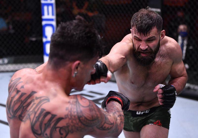 UFC 258: Pitolo v Marquez