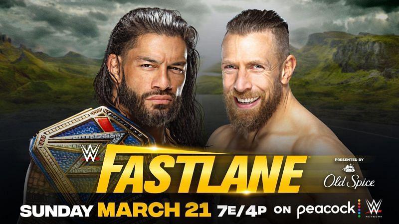 WWE यूनिवर्सल चैंपियन रोमन रेंस vs डेनियल ब्रायन