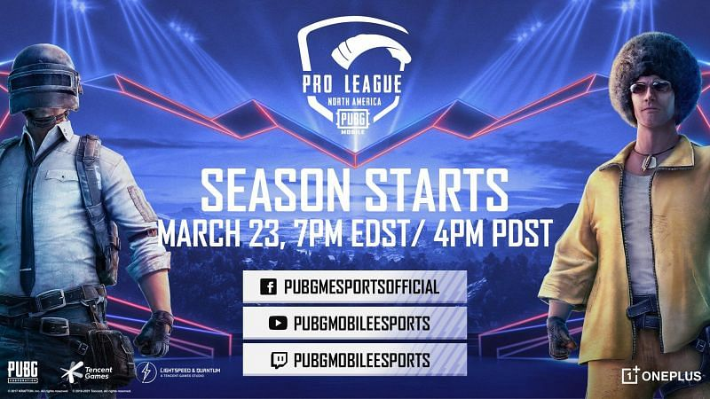 The PUBG Mobile Pro League S1 North America starts next week