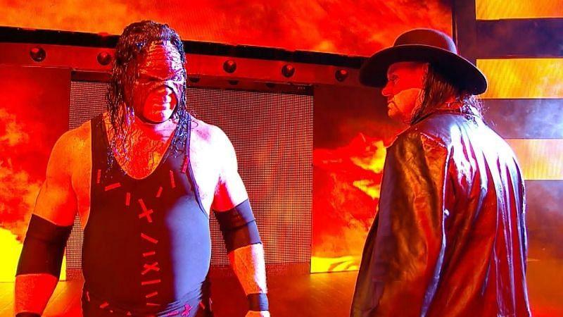 WWE सुपरस्टार्स द अंडरटेकर एवं केन