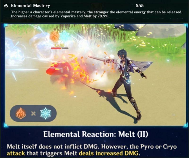 Amplifying Reaction in Genshin Impact