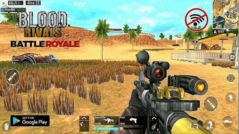 Blood Rivals - Survival Battleground FPS Shooter (Image via AnonymousYT, YouTube)