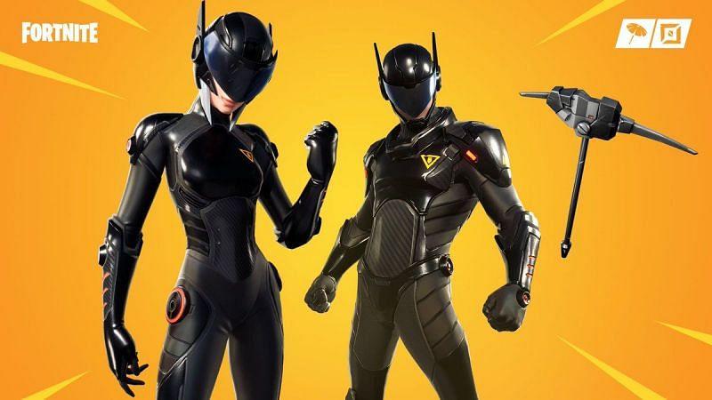 B.R.U.T.E Gunner (left) and B.R.U.T.E Navigator (right) (Images via Epic Games)