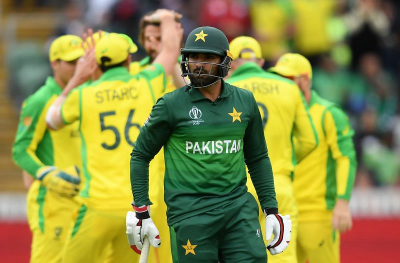 Asif Ali played his last ODI against Australia during the 2019 World Cup