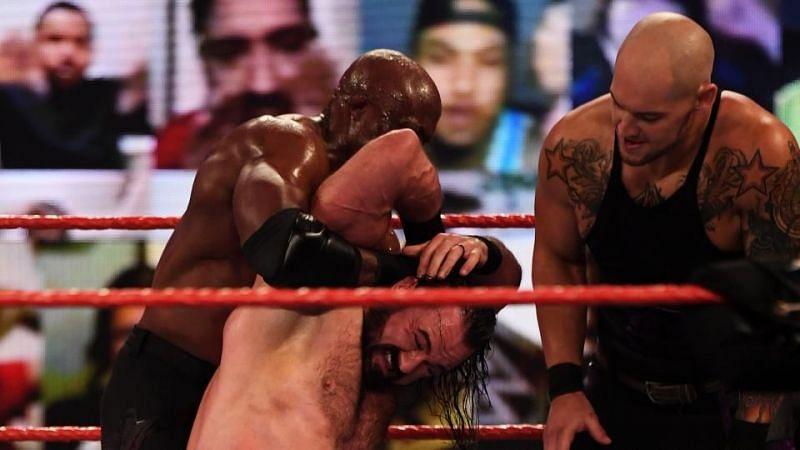 Raw का एपिसोड काफी ज्यादा धमाकेदार रहा