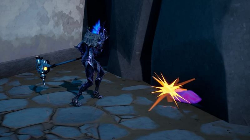 Crystals have started growing around The Spire (Image via YouTube/Pure Game Guides)
