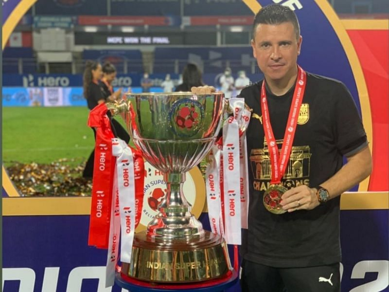 Sergio Lobera spoke with the media after lifting his maiden ISL title.