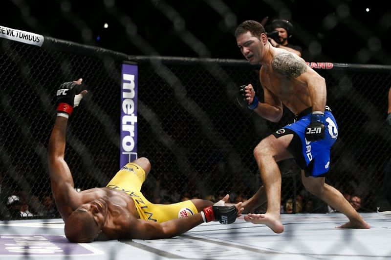 Chris Weidman famously upset Anderson Silva at UFC 162 to end his lengthy win streak.