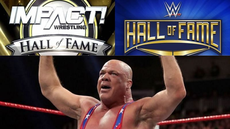 IMPACT and WWE Hall of Fame inductee Kurt Angle