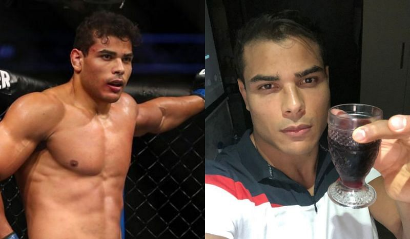 Paulo Costa allegedly drank wine ahead of his title fight with Israel Adesanya at UFC 253