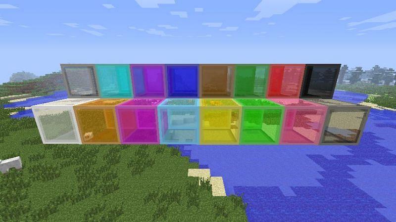 Stained glass (Image via minecraftforum.net)