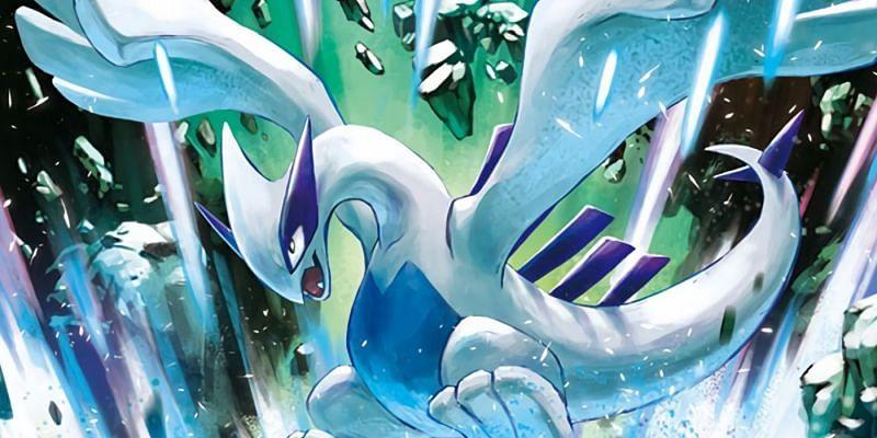 Lugia (Image via Hasuno and The Pokemon Company)