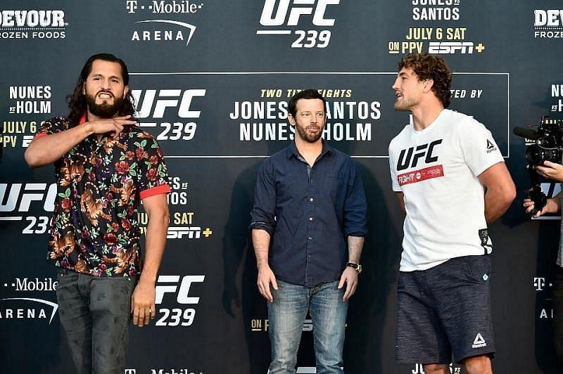 Jorge Masvidal and Ben Askren