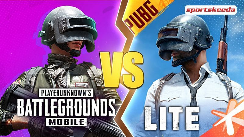 Listing out five differences between PUBG Mobile Lite and PUBG Mobile