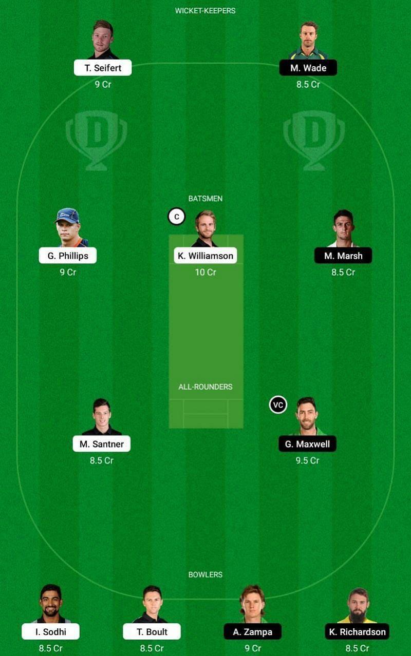 NZ vs AUS Dream11 Tips