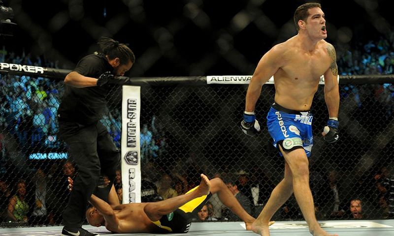 Chris Weidman ended the Anderson Silva era at middleweight with a bang at UFC 162