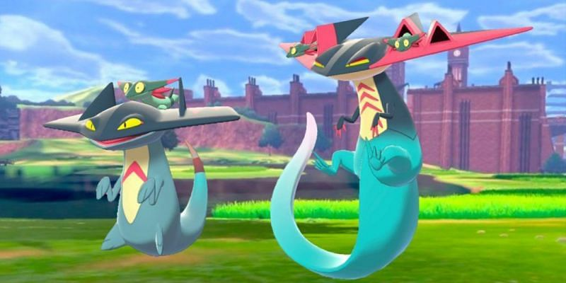 With the right IVs, Dragapult can blaze past any team in Pokemon Sword and Shield. (Image via Game Freak)