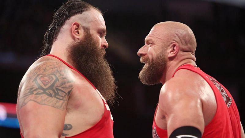 Braun Strowman vs. Triple H has never happened