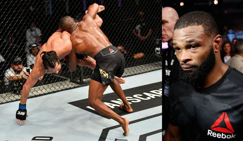 Tyron Woodley will root for his teammate Jorge Masvidal against Kamaru Usman