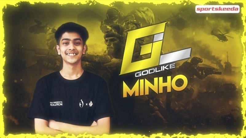 "In conversation with COD Mobile pro Parth ""Minho"" Rane, IGL for GodLike (Image via Sportskeeda)"