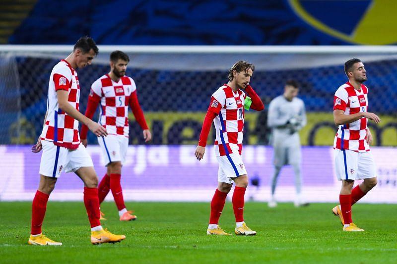 Croatia play Slovenia on Wednesday