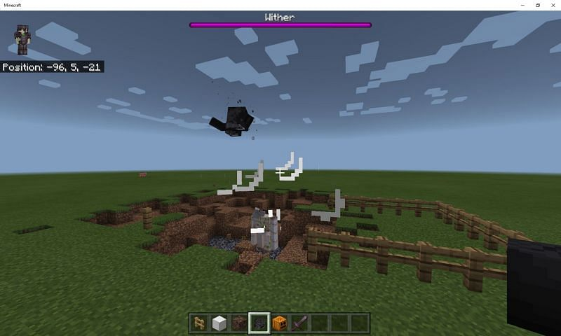 Two of the most impressive mobs in Minecraft (Image via Mojang)