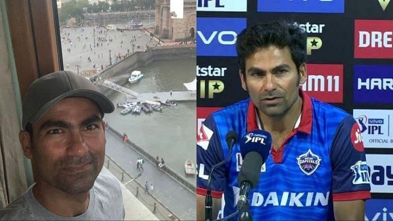 Mohammad Kaif has landed in Mumbai