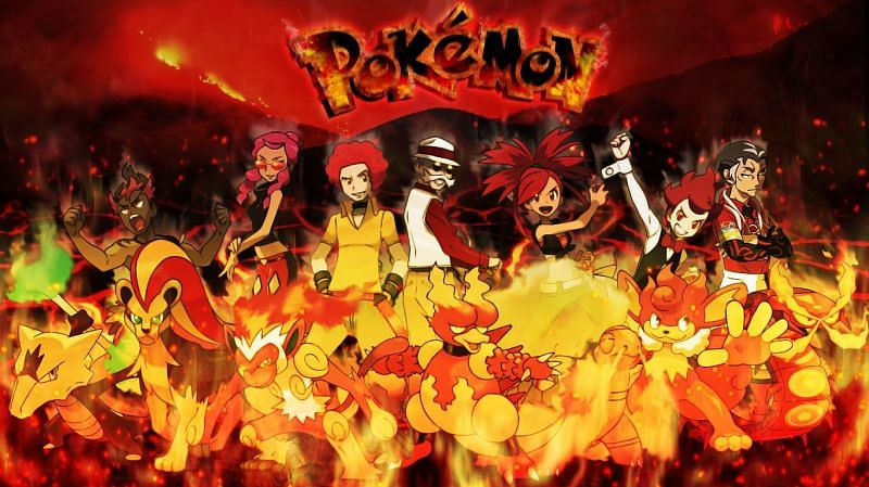 Fire-types can be quite the sight (Image via saintnaruto on DeviantArt)
