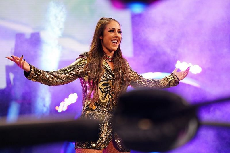 Britt Baker discusses the dynamic she shares with Thunder Rosa.