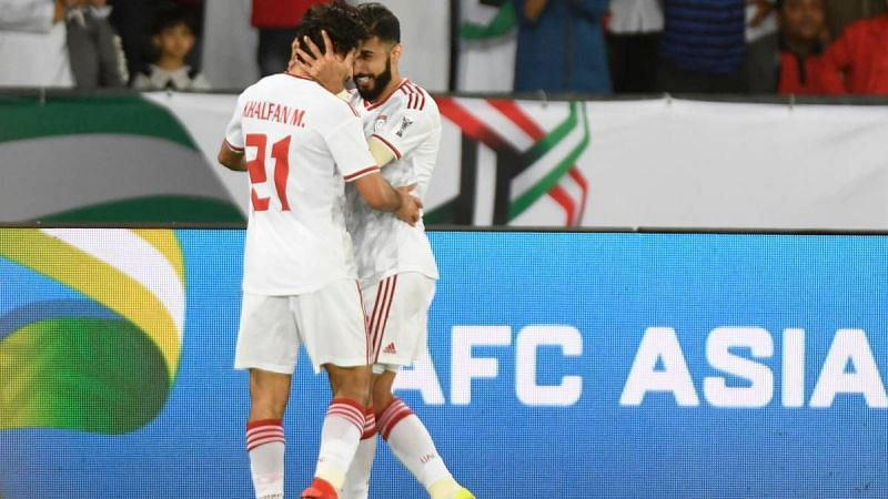 UAE won 2-0 over India in their last meeting in the AFC Asian Cup 2019. (Image: AFC)