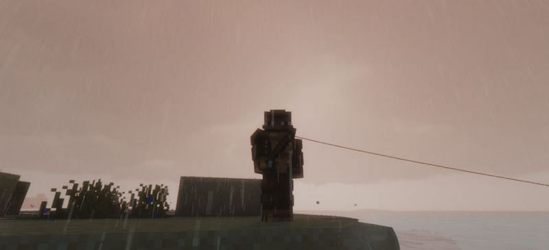 Shown: Just a Monke and his rod... (Image via Minecraft)