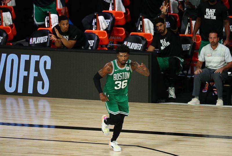 Boston Celtics guard #36 Marcus Smart
