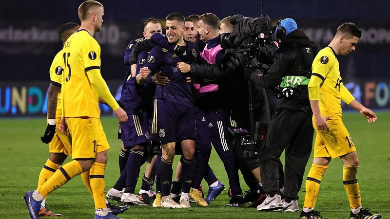 Historic night for Zagreb as Spurs are condemned to a humiliating defeat