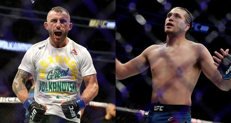 Alexander Volkanovski vs Brian Ortega stands canceled due to Covid-19 protocol