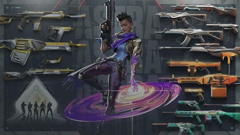 Valorant Patch 2.04 Astra Image by Riot Games
