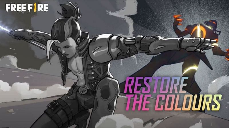 Restore the colors is one of the events going on in the game (Image via Free Fire)
