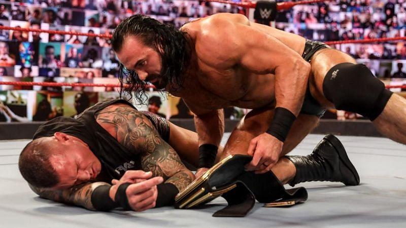 Randy Orton and Drew McIntyre