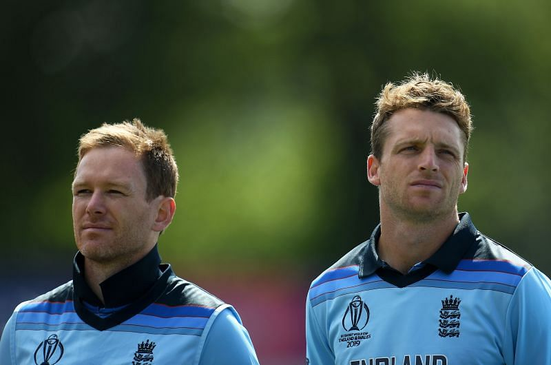 Eoin Morgan (L) & Jos Buttler
