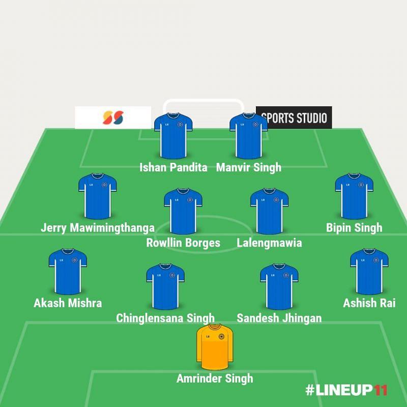 ISL 2020-21: Indian Team of the Season (Image: Line Up 11)