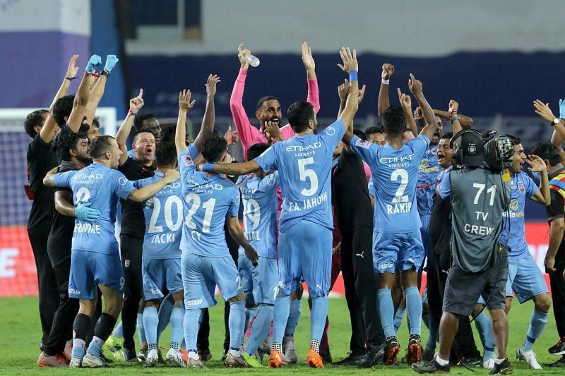 Mumbai City FC win the Indian Super League 2020-21 title (Image courtesy: ISL)