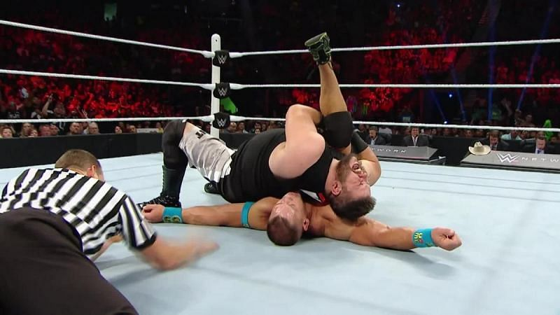 Kevin Owens defeated John Cena on his WWE  debut