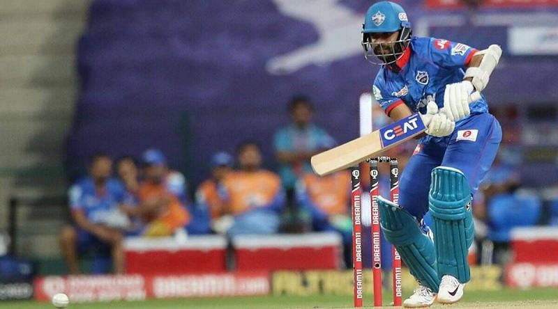 Rahane was unsuccessful at the top of the order in IPL 2020