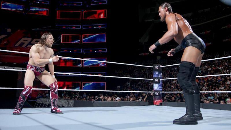 Daniel Bryan feuded with Big Cass in 2018