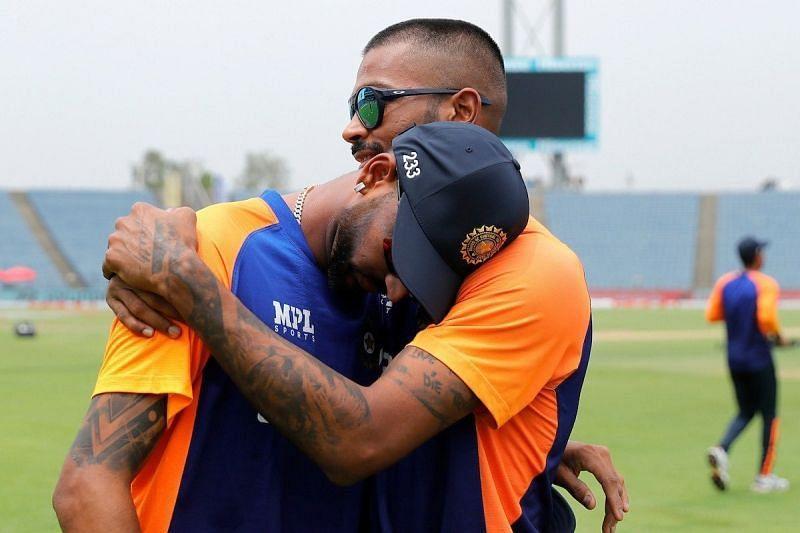 Krunal Pandya had a memorable ODI debut alongside brother Hardik
