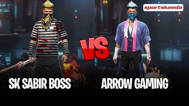 Garena Free Fire: SK Sabir Boss vs Arrow AK (Arrow Gaming)