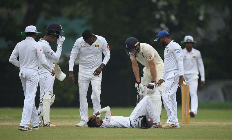 Pathum Nissanka scored a fabulous hundred on his Test debut.