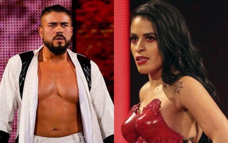 Zelina Vega had words of encouragement for Andrade
