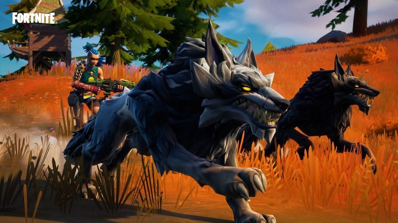 Where to find animals in Fortnite Season 6 (Image via Epic Games)