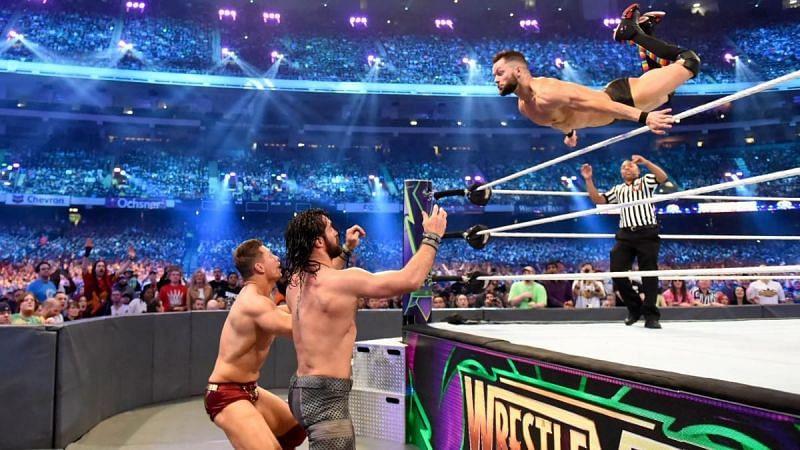 WWE Wrestlemania 34 का इंटरकॉन्टिनेंटल चैंपियनशिप मैच