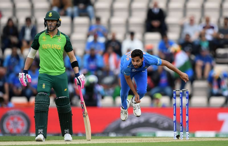 Bhuvneshwar Kumar is one of the top fast bowlers in the world right now